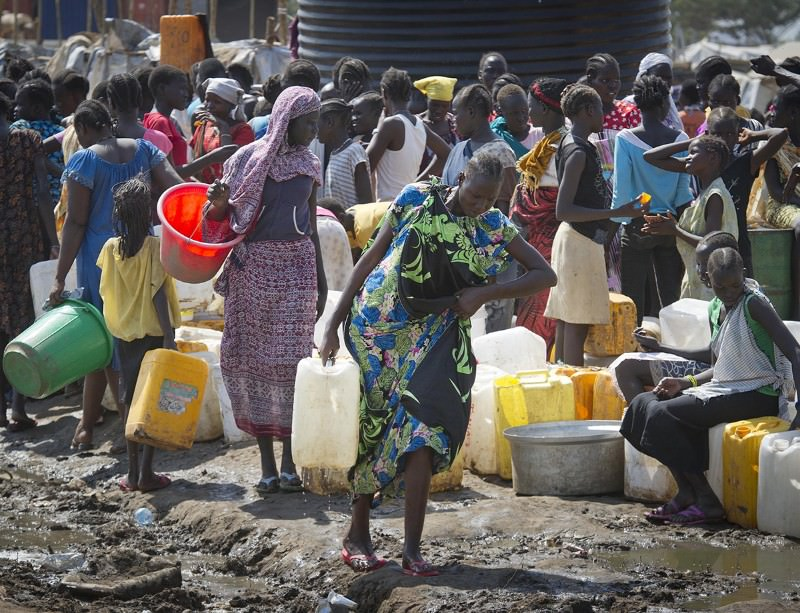 Water shortages and violence may help the guinea worm hang on