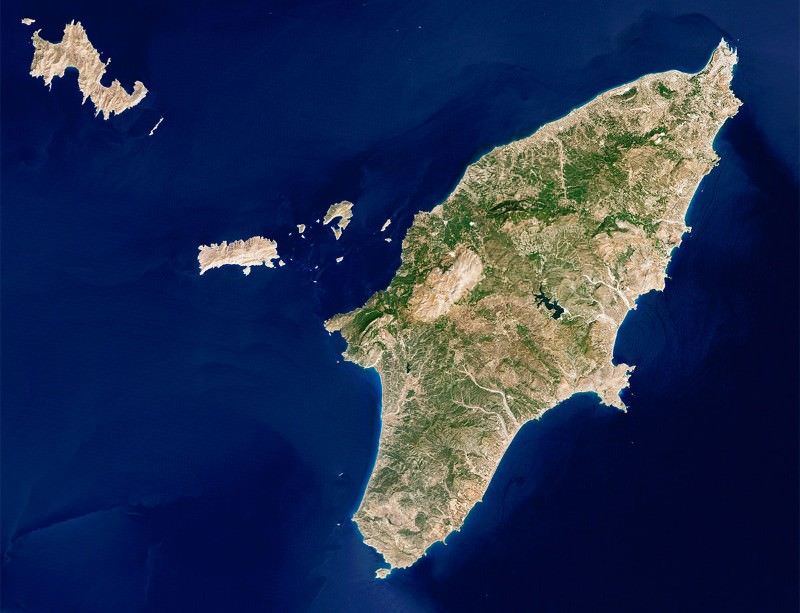 Farmers settled on the Dodecanese islands on their way to Europe