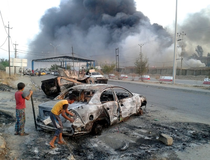 The fall of Mosul