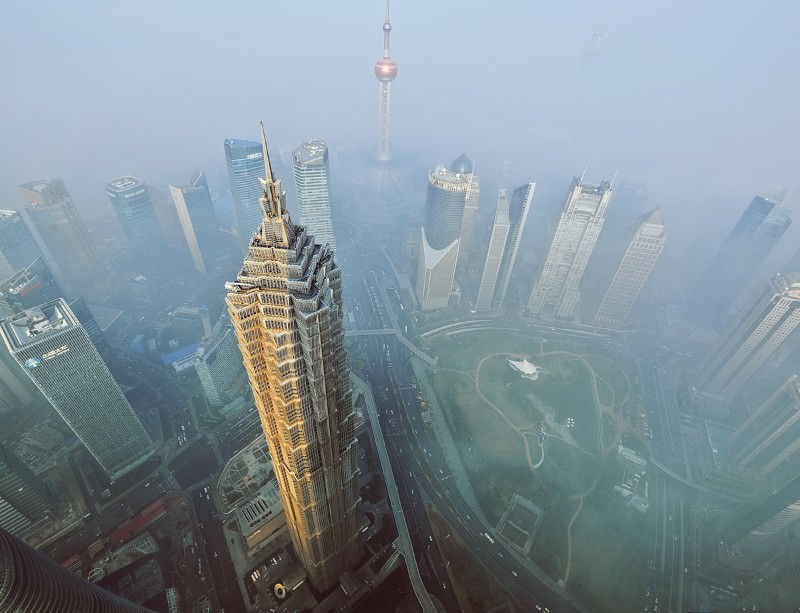 Shanghai, China, knows a thing or two about smog