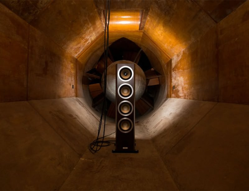 Acoustic art and industrial architecture make music