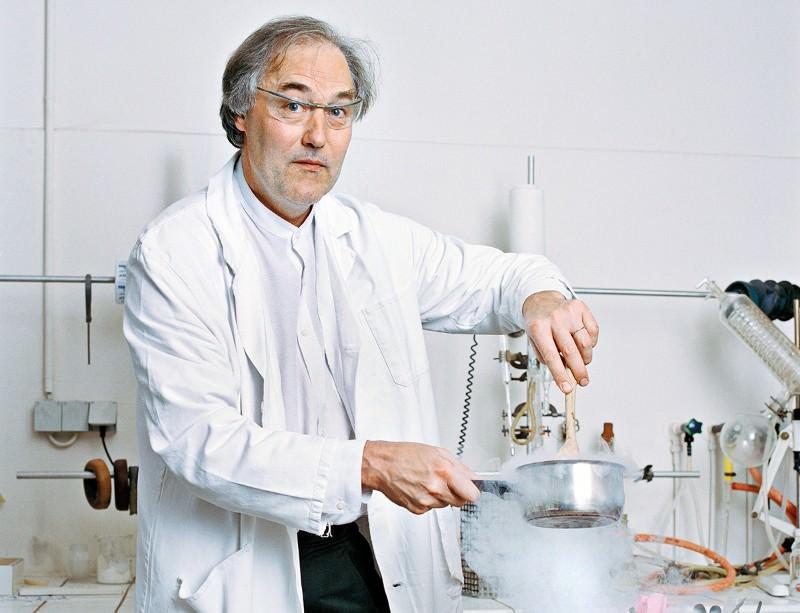 Hervé This cooks up a storm