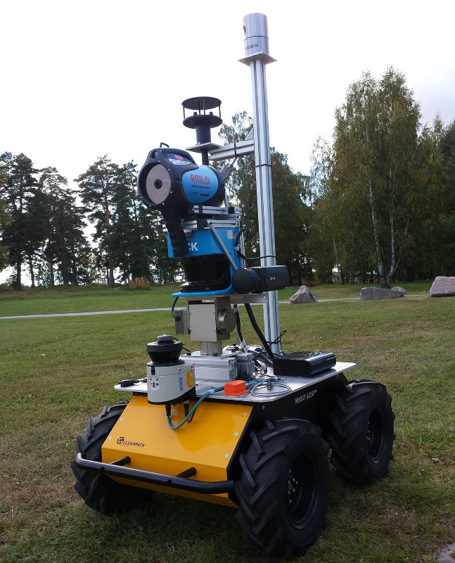 Methane leak? Robot sniffer dog is on the case