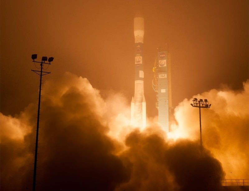 Second time lucky, the OCO-2 probe hits its 30-second launch window