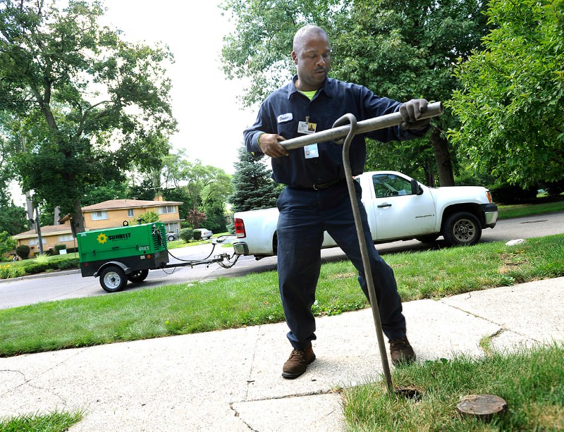 People in Detroit are being left without running water in their homes
