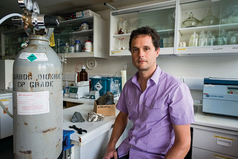Juerg Matter wants to turn excess carbon into stone