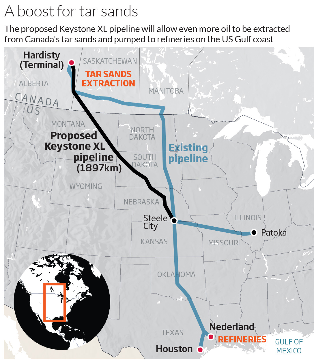 A boost for tar sands