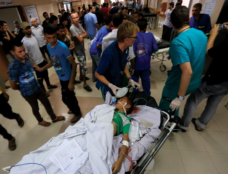 A third of Gaza's hospitals have been damaged