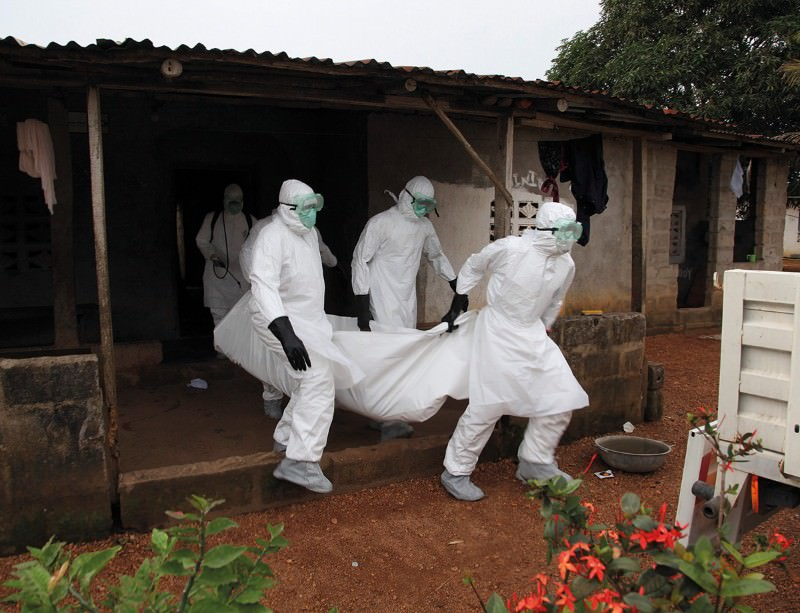 Ebola's fallen: bringing out the dead