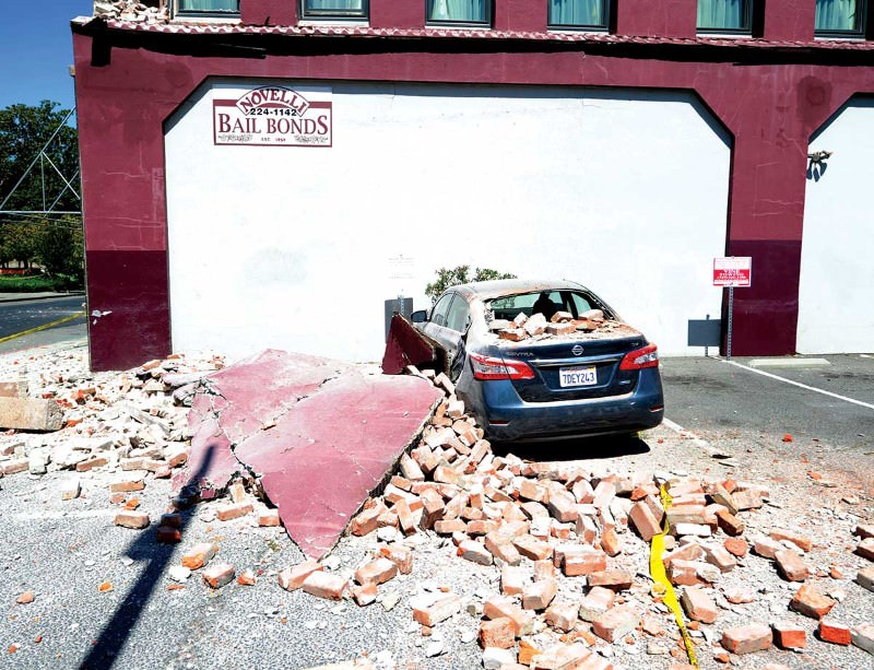 The Californian quake caused hundreds of millions of dollars of damage