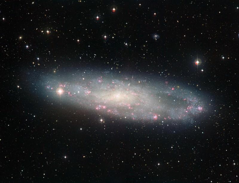 NGC 247, holed