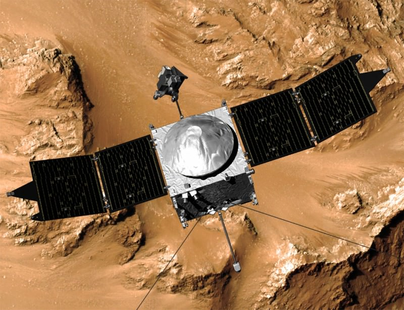 Taking the air on Mars