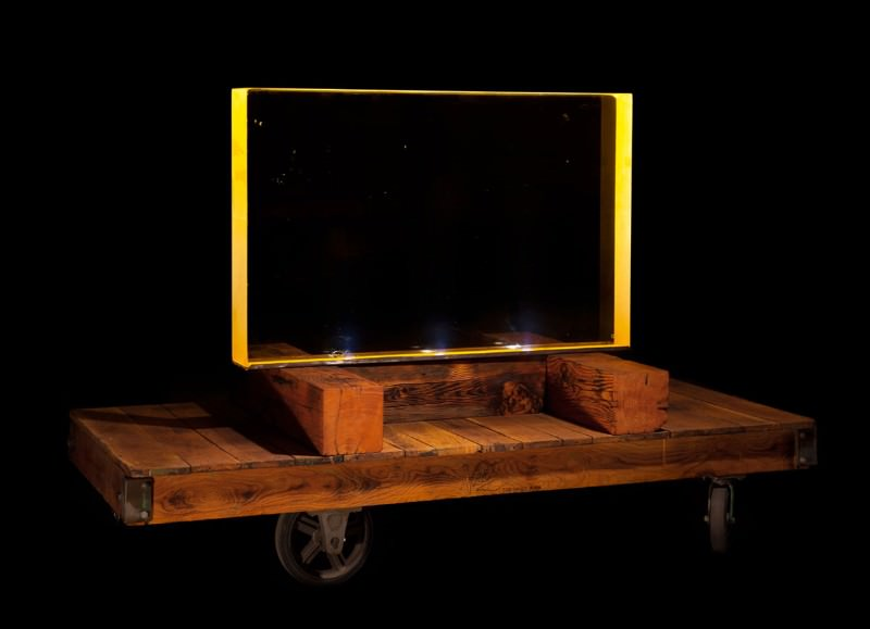 Manhattan Project radiation-proof window for sale