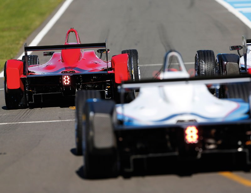 Formula E: Roar power matters for electric racing cars