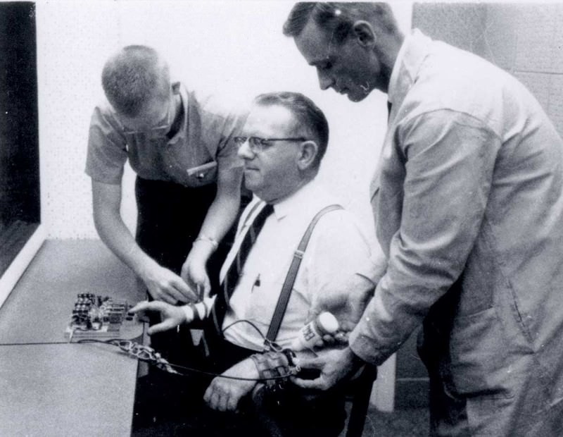 Stanley Milgram devised experiments to test our capacity for blind obedience
