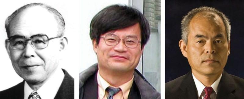 Physics Nobel winners Isamu Akasaki, Hiroshi Amano and Shuji Nakamura