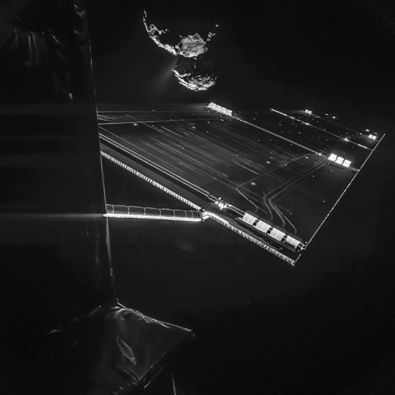 Rosetta's latest selfie: just showing off now