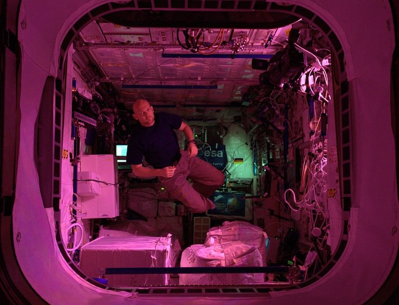 Floating in a tin can... our bodies can break down in microgravity