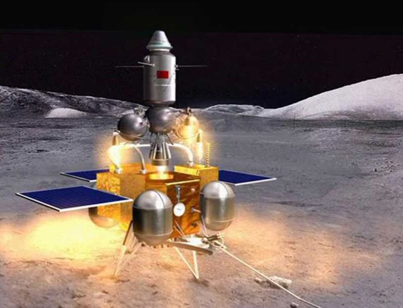 China's 2017 target is to land on the moon, scoop up some rocks and soil, and bring it all back to Earth