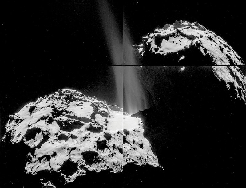 There's a distinct whiff of rotten eggs on this comet