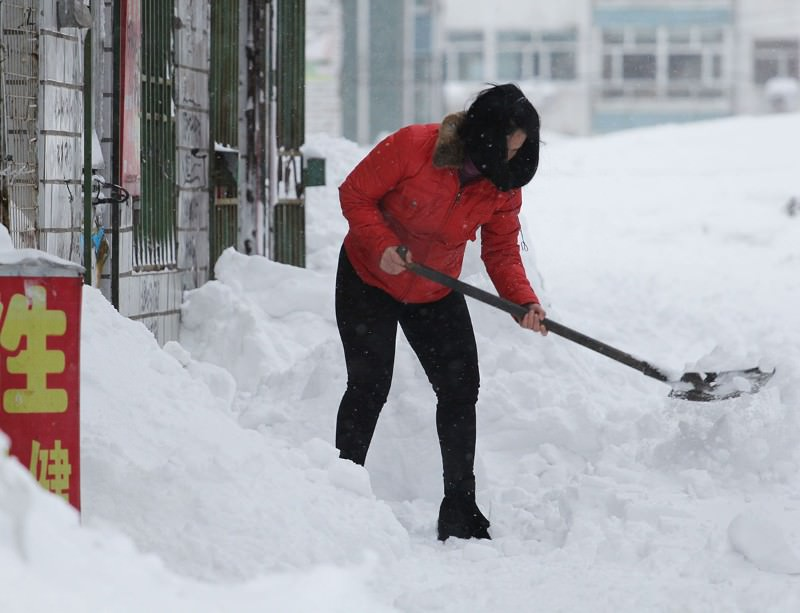 Climate change is making winters in northern China twice as likely to be extremely cold