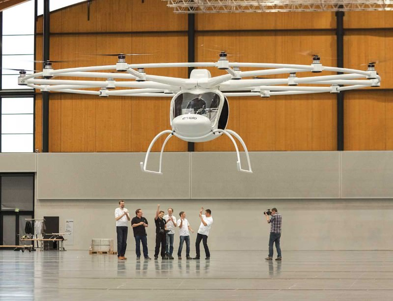 Volocopter: easy to fly