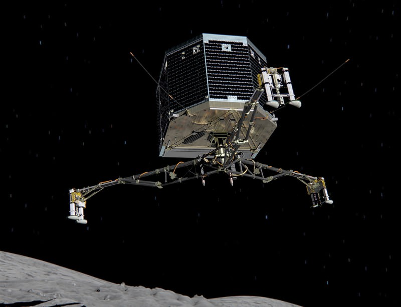 Listen to the thump of Philae landing on comet 67P