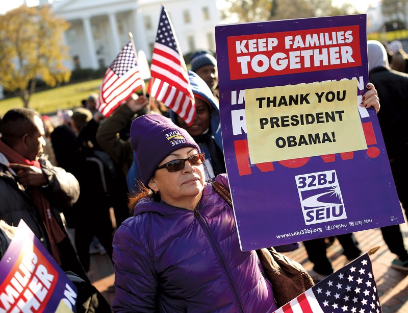 US immigrants to be given legal status