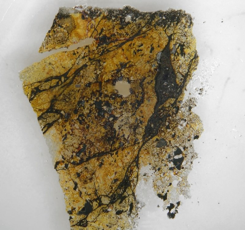 Meteoric mineral: Percy Bridgman would be proud