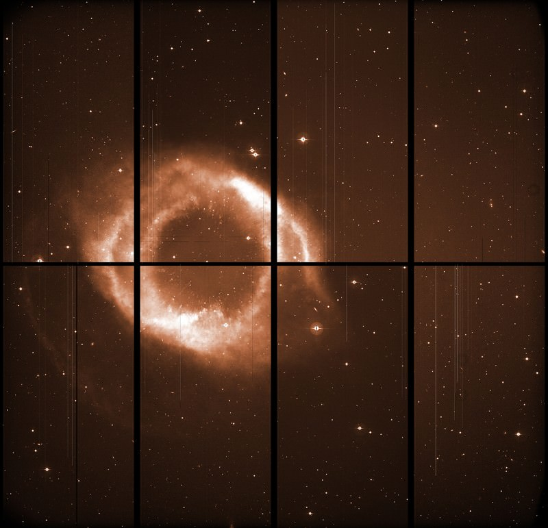 Naked nebula reveals astronomy's colour tricks