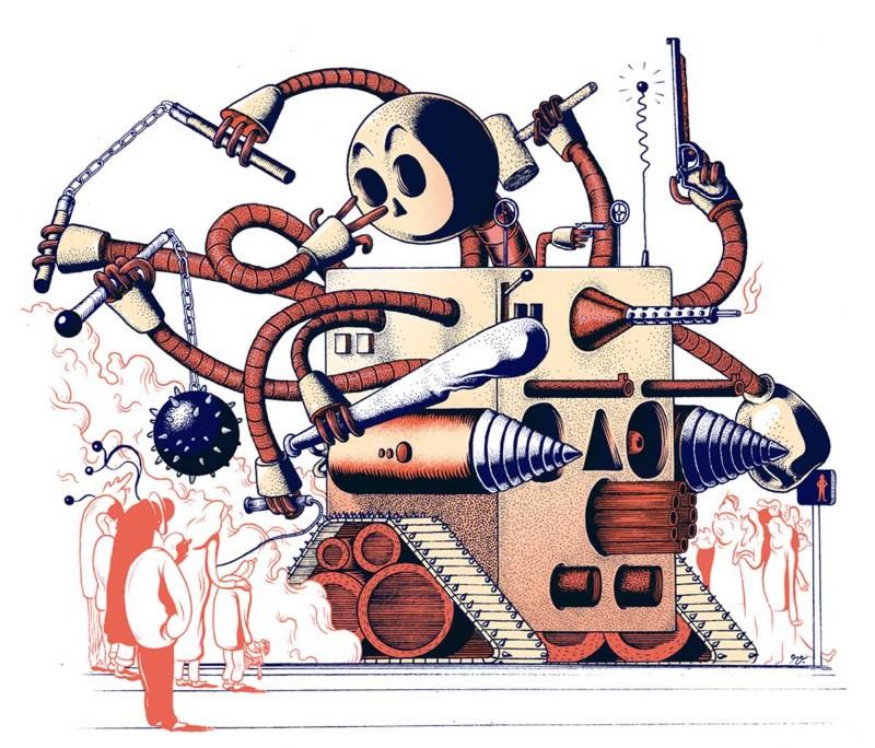 World War R: Rise of the killer robots