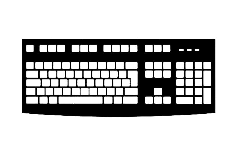 keyboard extended2-800-533