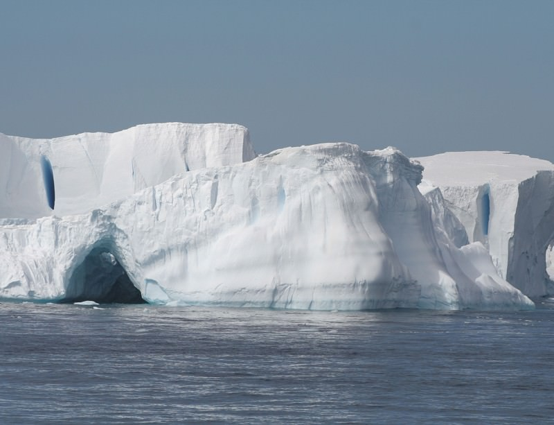 Antarctic ice shelves are being undercut