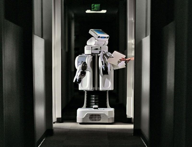 Robo room service