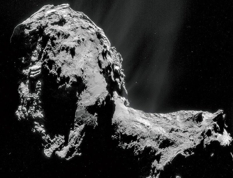 Weird water found on comet 67P