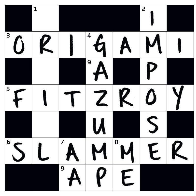 Try the hardest crossword ever set by a computer