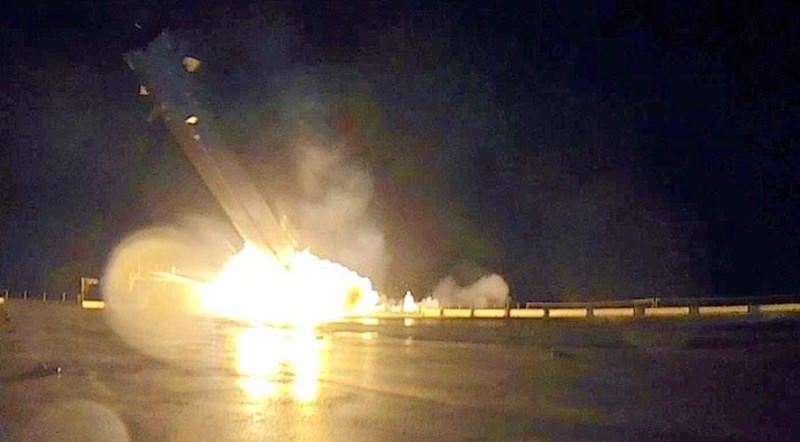 The moment the SpaceX rocket crash-landed on a boat