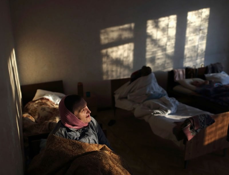 Staff have fled from many hospitals in eastern Ukraine