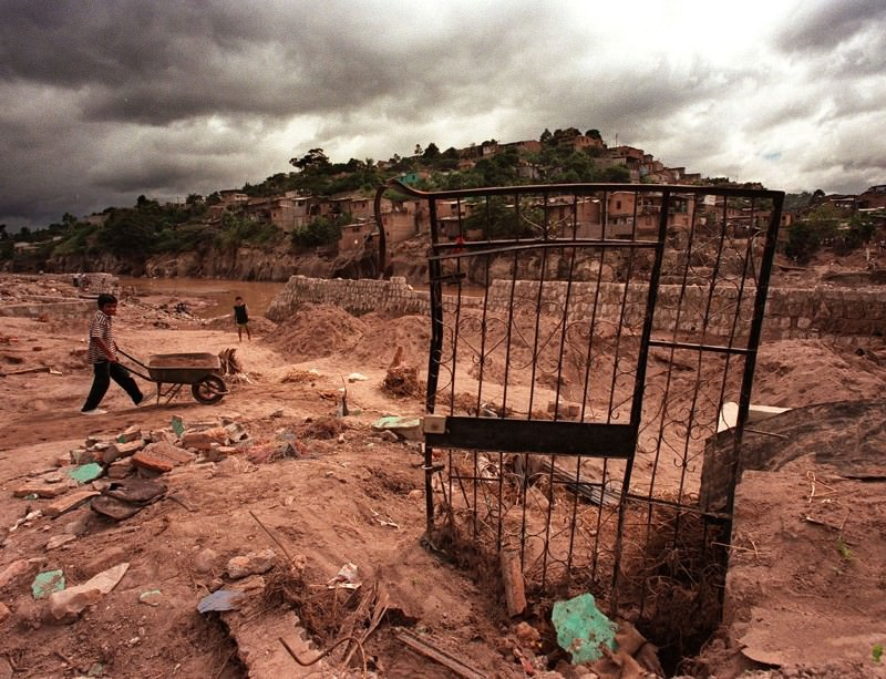 In 1998, La Niña spurred on Hurricane Mitch, the deadliest hurricane in history