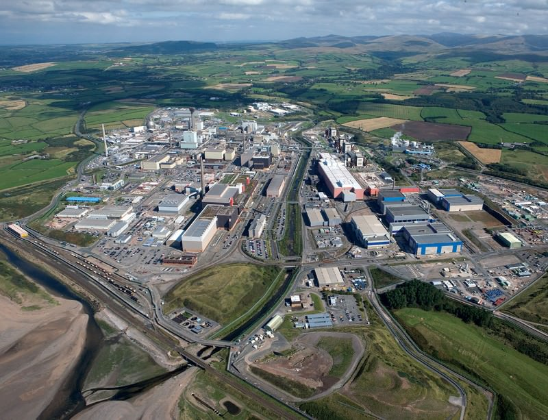 Sellafield holds waste dating back to the dawn of the nuclear age
