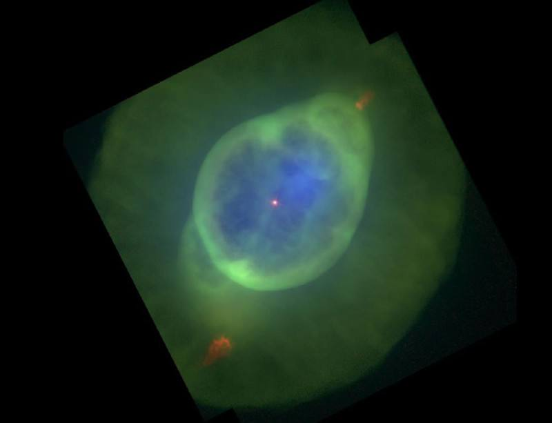 Dead star leaves behind Jupiter's Ghost