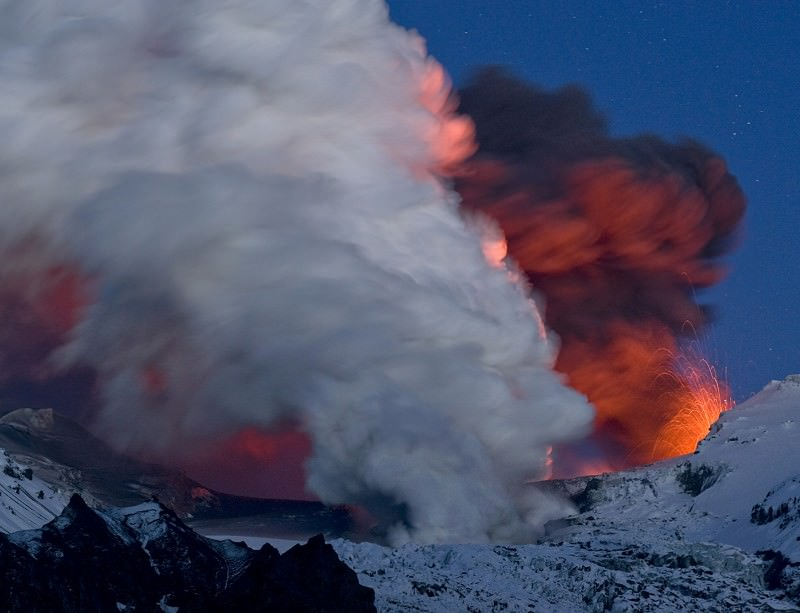 Melting glaciers could lead to volcanic eruptions