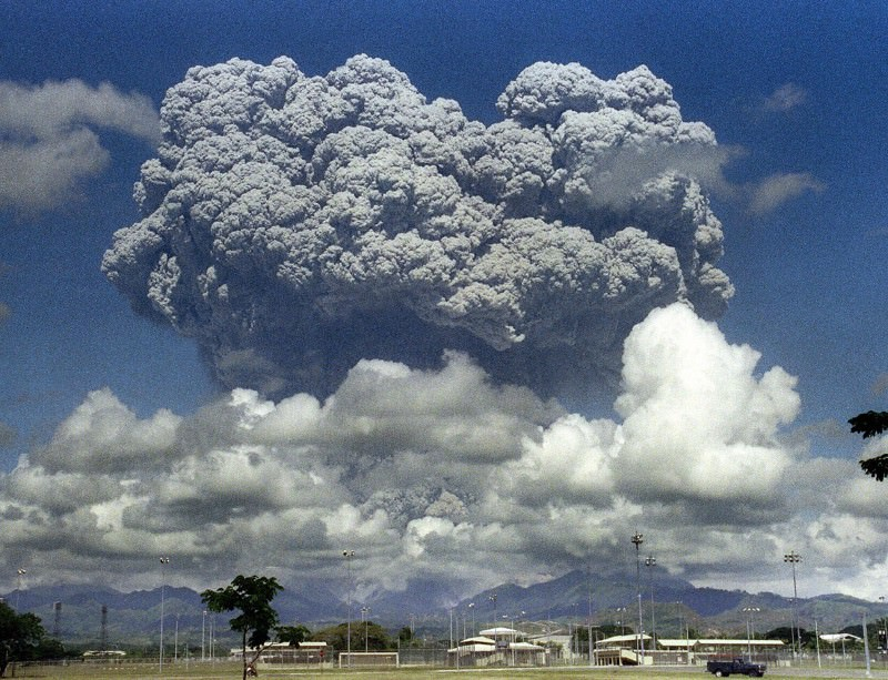 Should we follow Mount Pinatubo's example and cool Earth using sulphur dioxide?