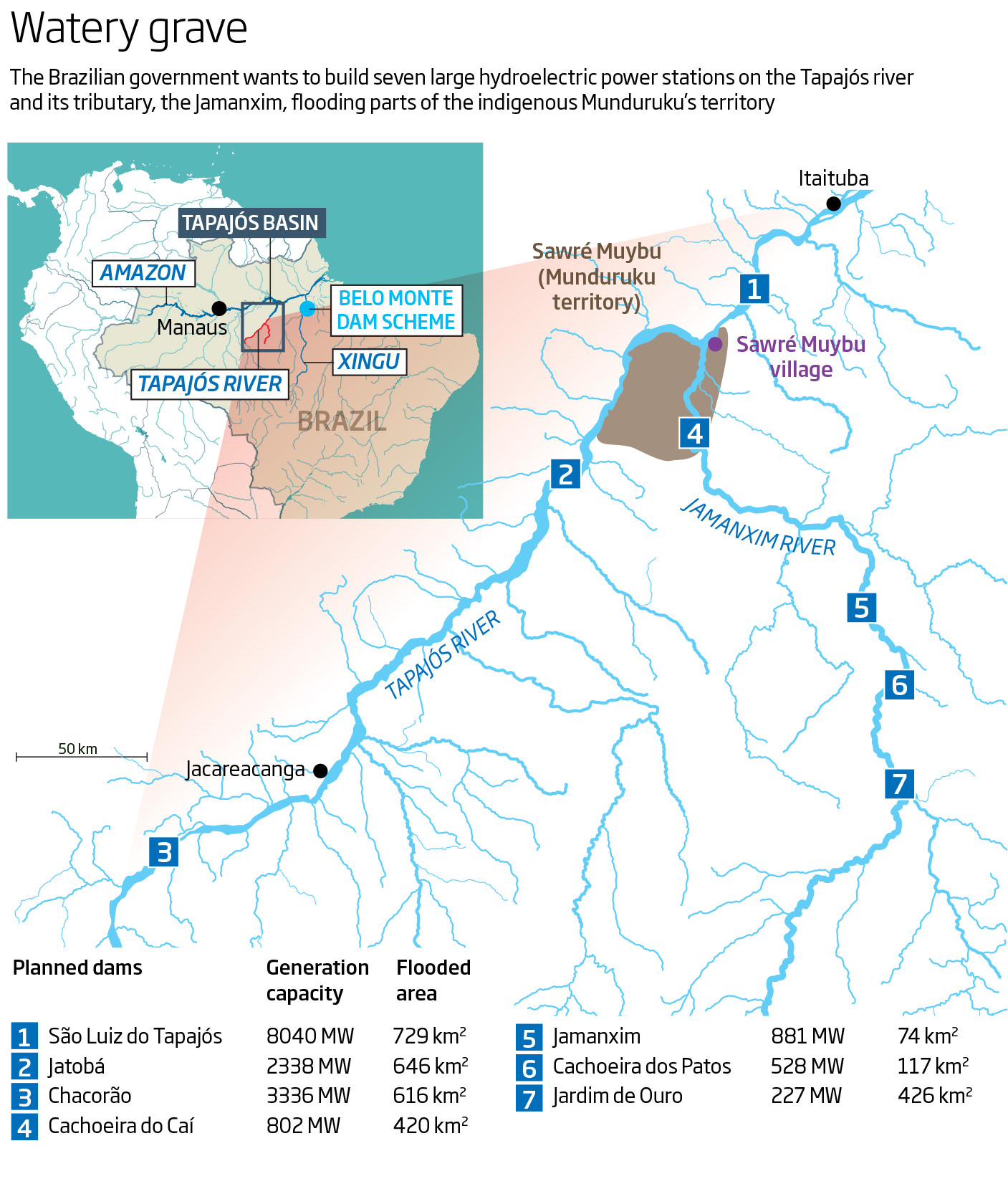 Dambusters: The end of Brazil's hydroelectric dreams?