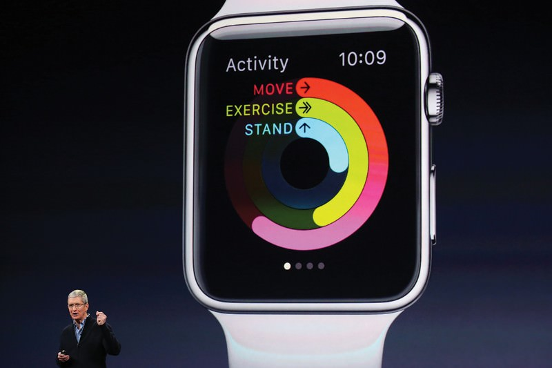 The Apple Watch allows researchers to take pulse measurements