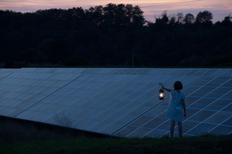 Solar panels: no good at night, or during an eclipse