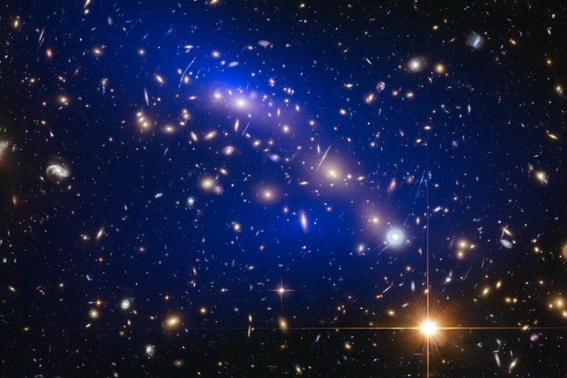 Space lab: galaxy clusters are the perfect place to study dark matter