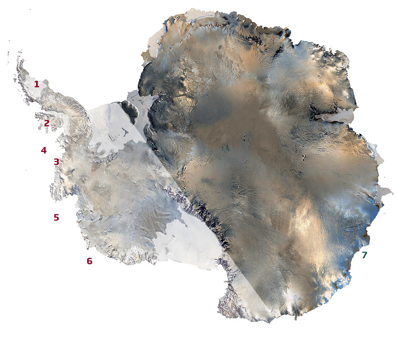 Major Antarctic ice survey reveals dramatic melting