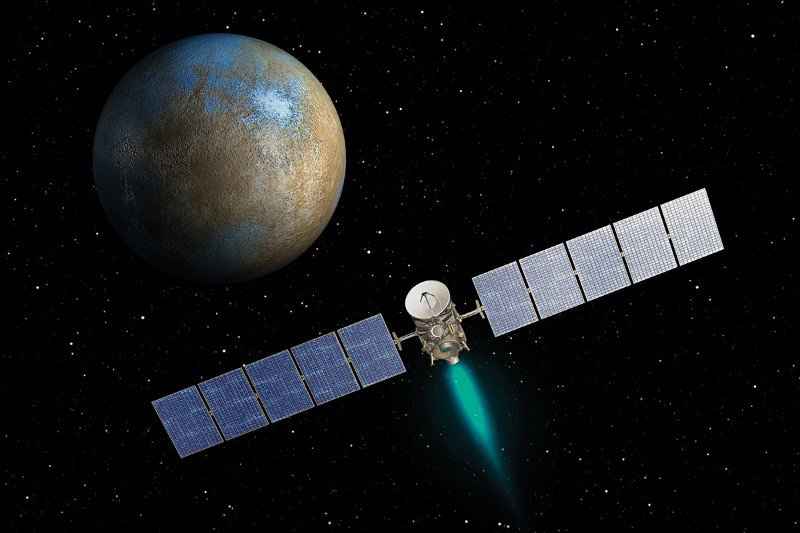 Dwarf planet Ceres might have right stuff for life