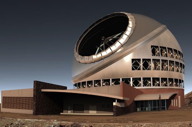 Native Hawaiians halt construction of giant telescope